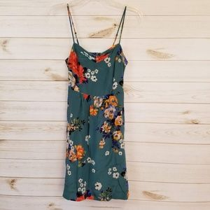 Anthropologie Moulinette Soeurs silk floral dress
